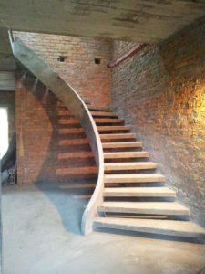 Монолитные лестницы эксклюзивные